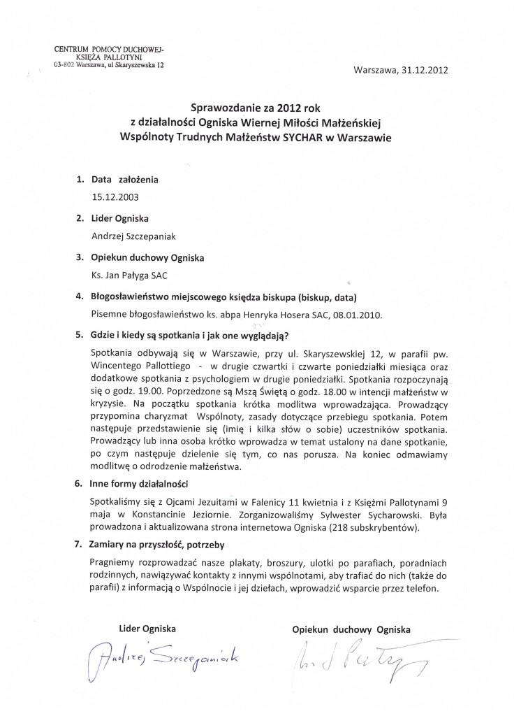 Sprawozdanie-2012-Warszawa-Pallotyni
